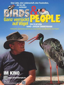 Kinoplakat 'Birds & People - Ganz verrückt auf Vögel'
